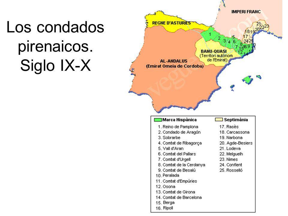 Los condados pirenaicos. Siglo IX-X