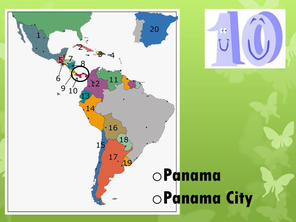 o Panama o Panama City