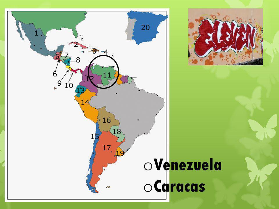 o Venezuela o Caracas
