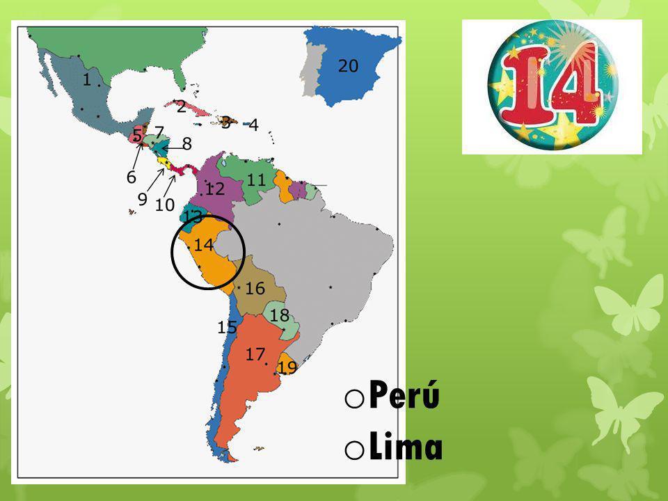 o Perú o Lima
