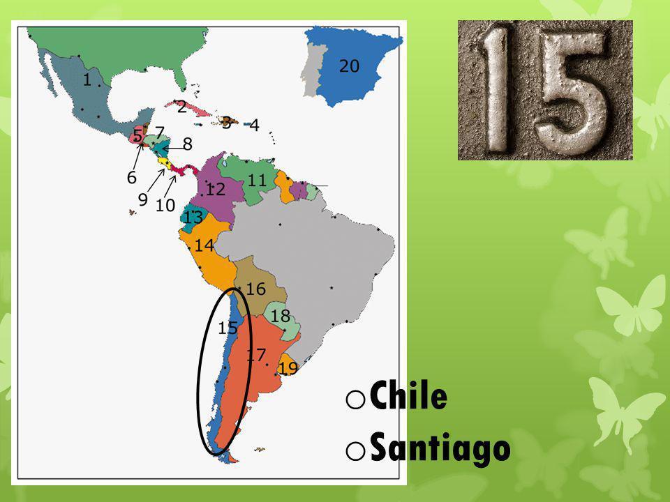 o Chile o Santiago