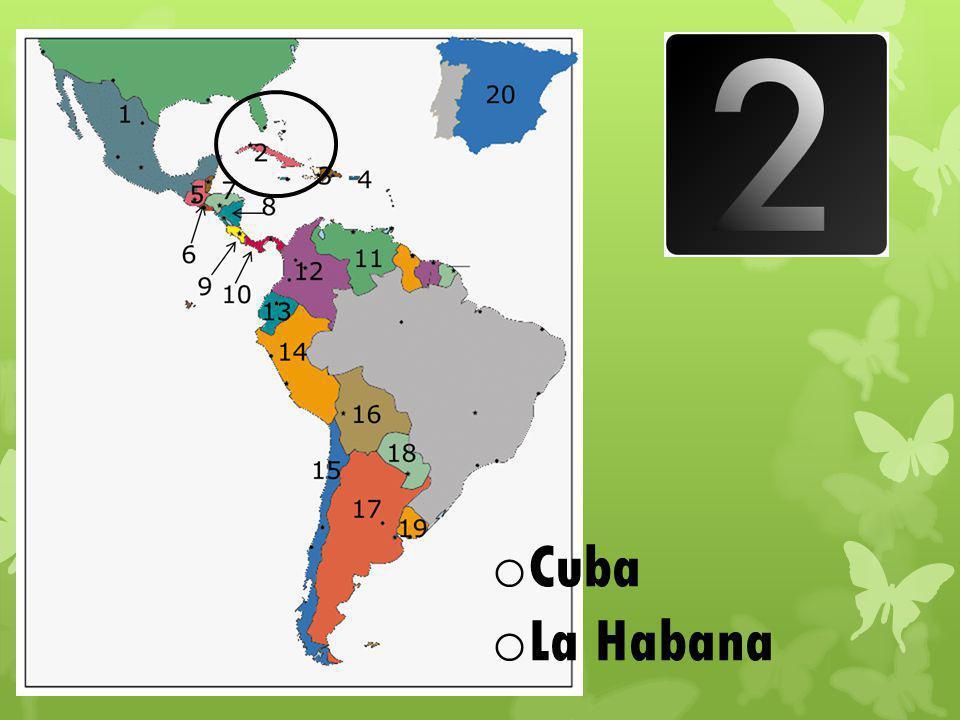 o Cuba o La Habana