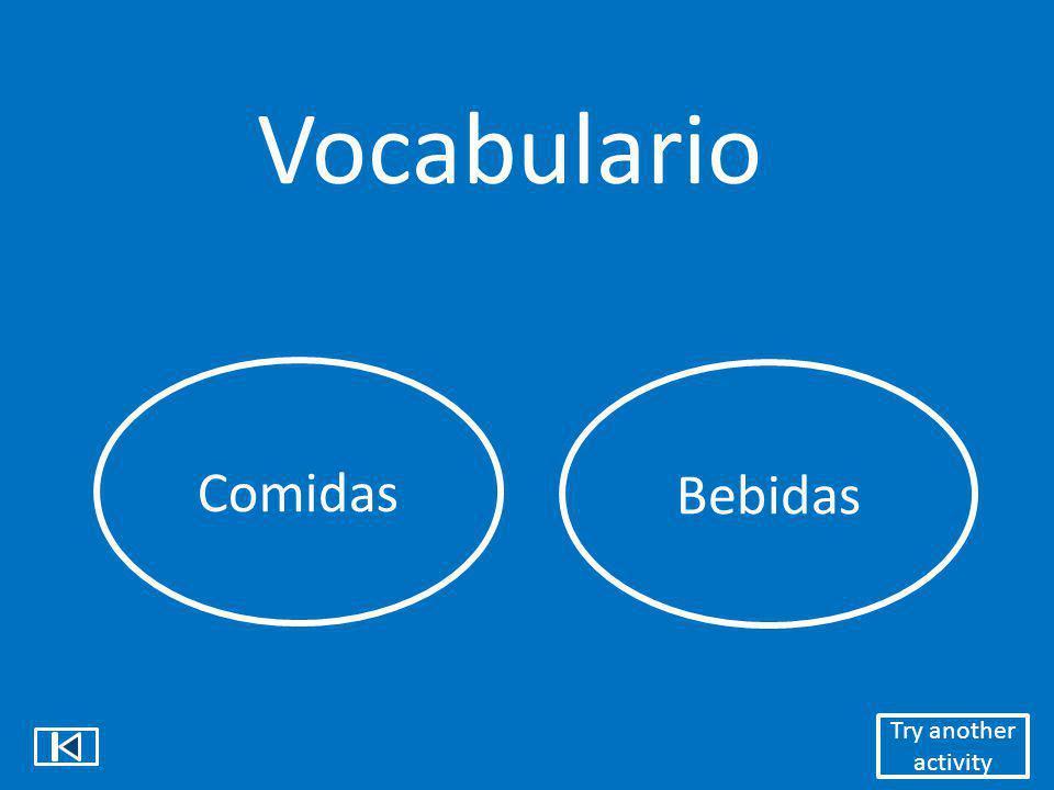 Vocabulario GustarInterrogativos Choose an activity