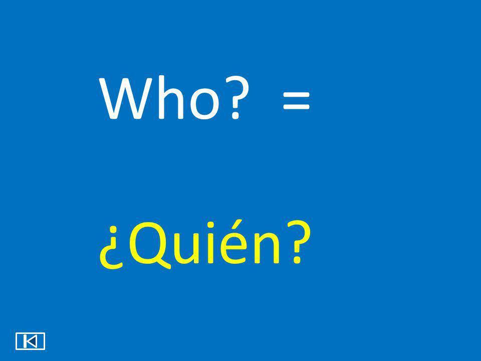 Which? = ¿Cuál?
