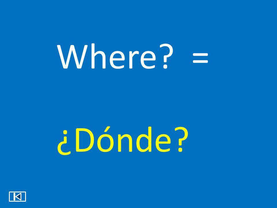 Who all? = ¿Quiénes?