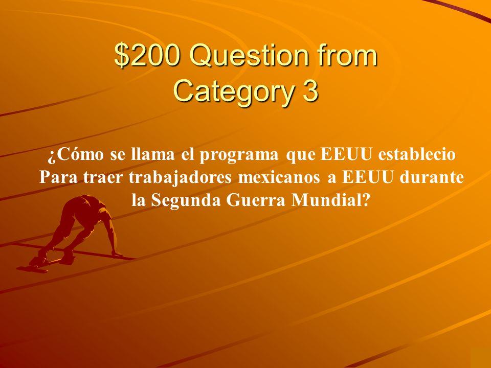 $100 Answer from Category 3 Es el acto de 1917 que impuso ciudadanía Americana en todos los puertorriqueños.