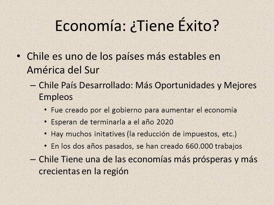 Economía: ¿Tiene Éxito.