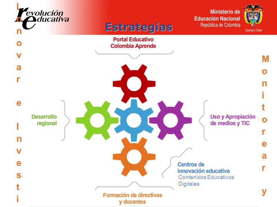 Estrategias Contenidos Educativos Digitales