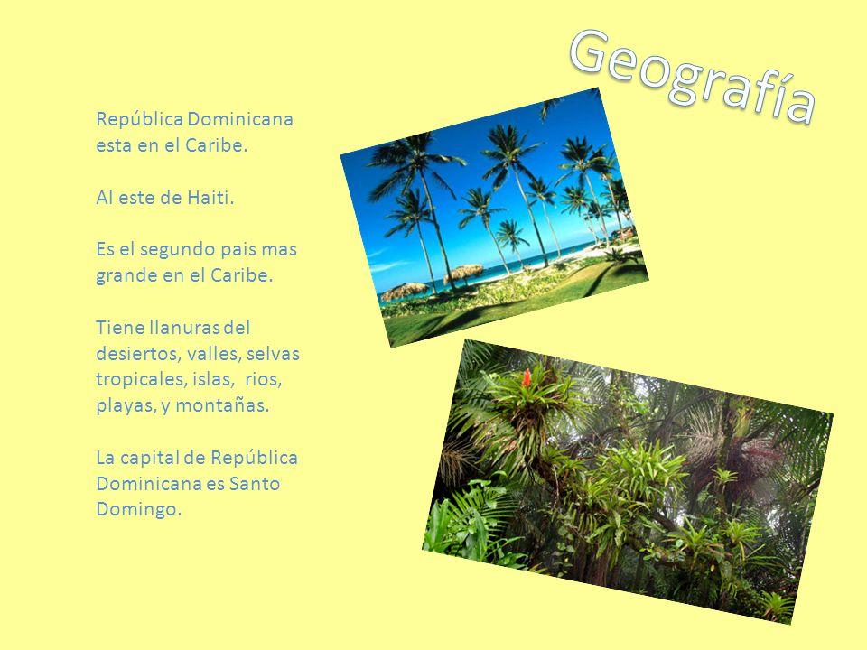 República Dominicana esta en el Caribe.Al este de Haiti.