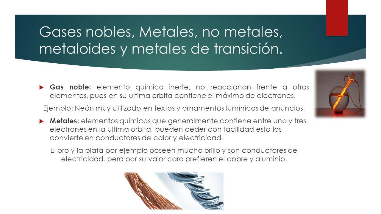Tabla peridica de los elementos qu es la tabla peridica la gases nobles metales no metales metaloides y metales de transicin urtaz Choice Image