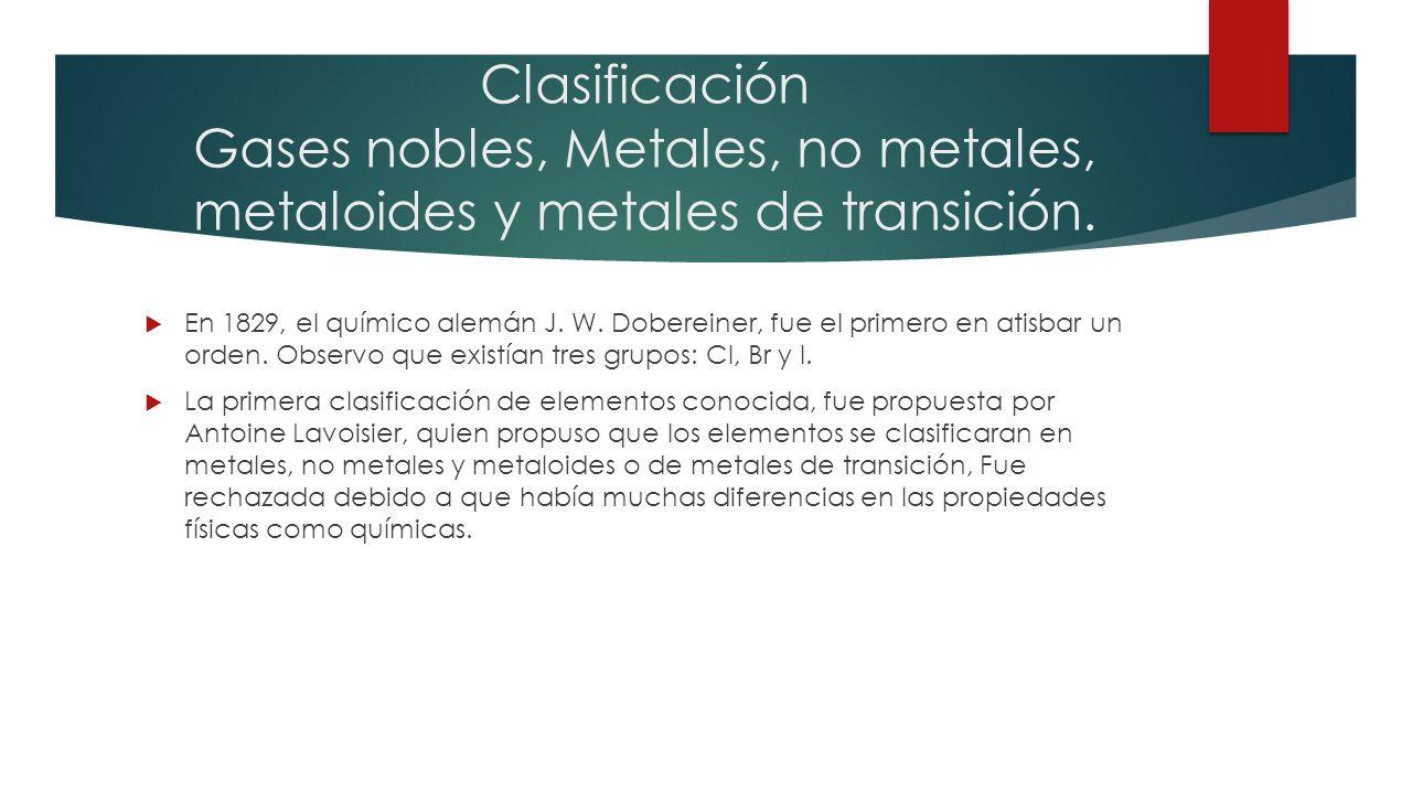 Tabla peridica de los elementos qu es la tabla peridica la clasificacin gases nobles metales no metales metaloides y metales de transicin urtaz Choice Image