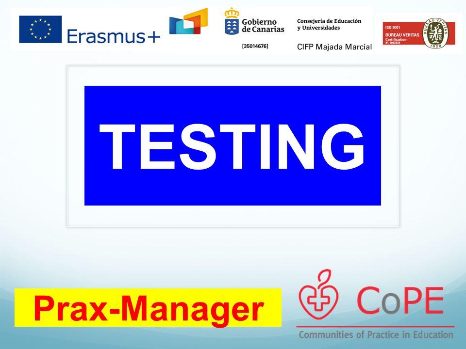 Prax-Manager TESTING