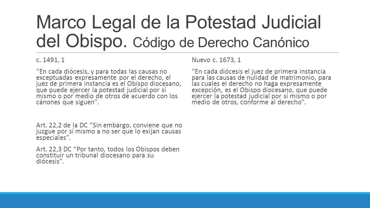 La Potestad Judicial del Obispo Diocesano XII CURSO DE ACTUALIZACIÓN ...