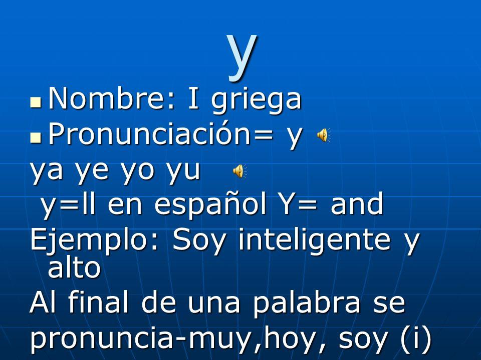 x Beginning of a word= es S Ejemplo: Xilófono xe xi en México xe xi en Latinoamérica tóxico, léxico, éxito