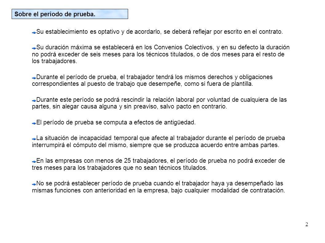1 Contratos de trabajo Características de un contrato de trabajo ...