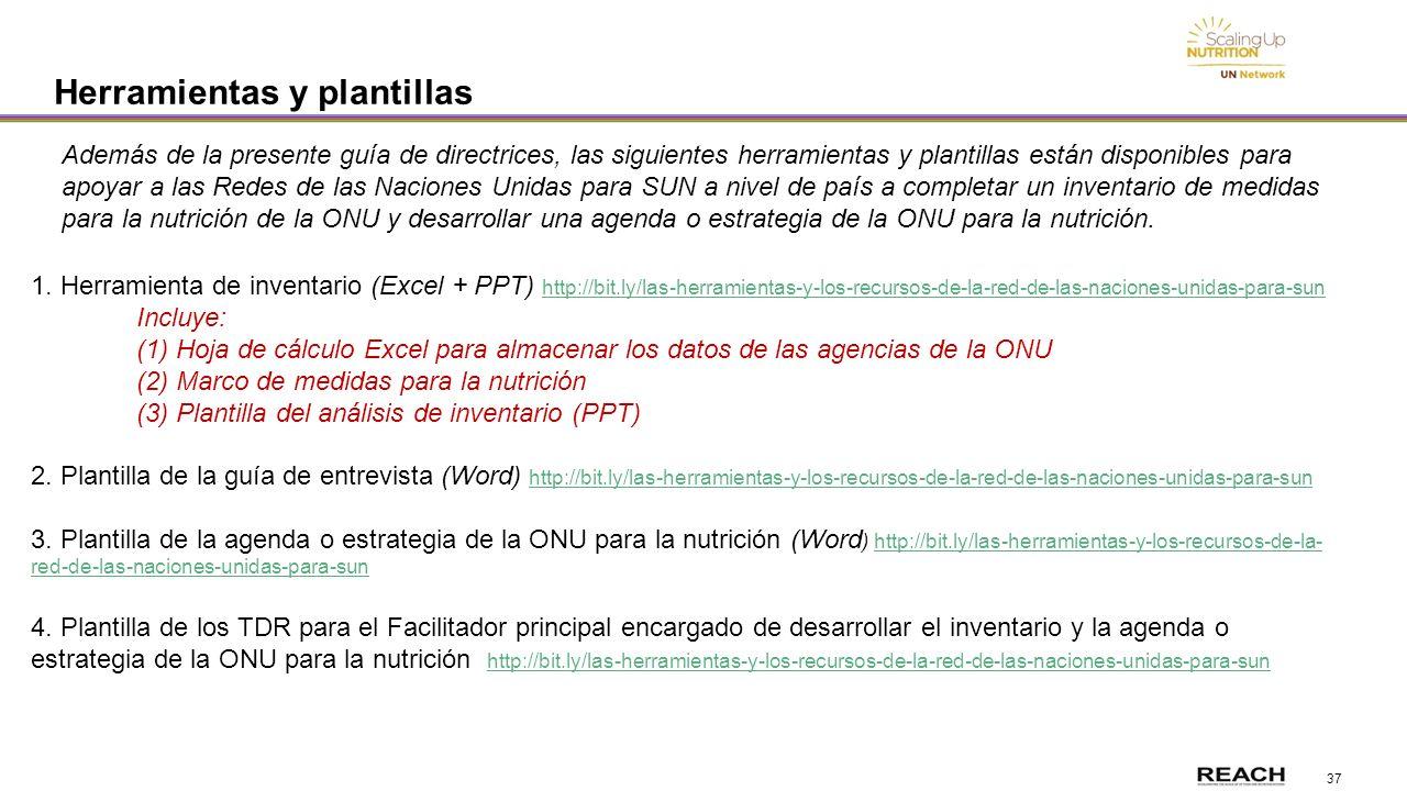 Red de las Naciones Unidas para SUN Guía de directrices ...