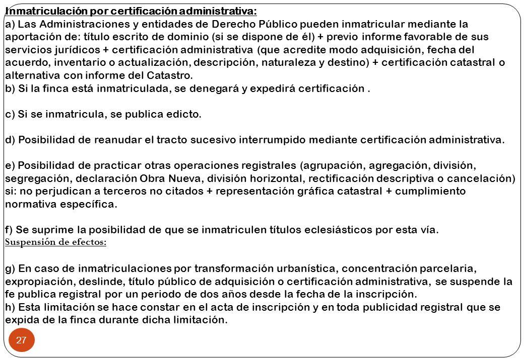 José Miguel Mateo 1 La Reforma del Título VI de la Ley Hipotecaria ...