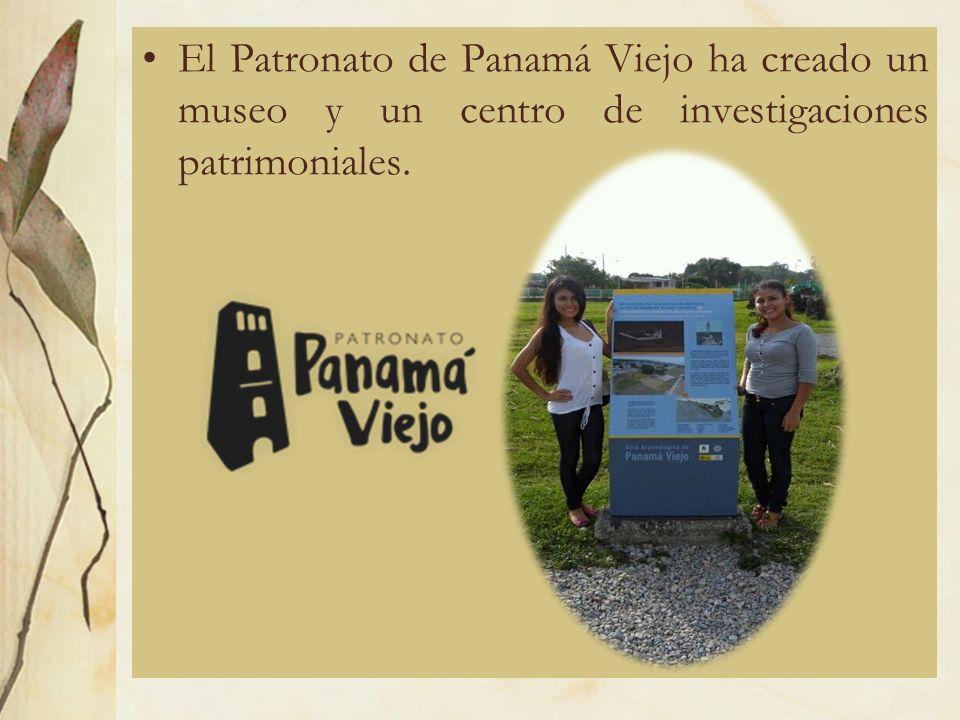 El Patronato de Panamá Viejo ha creado un museo y un centro de investigaciones patrimoniales.