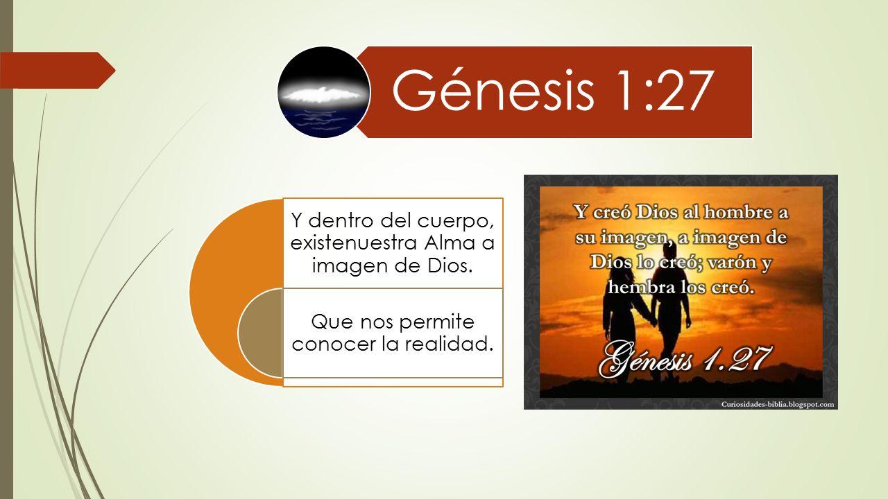 Cosmovisión II ¿Quien eres?. Génesis 2:7 Nos vemos como Un cuerpo ...