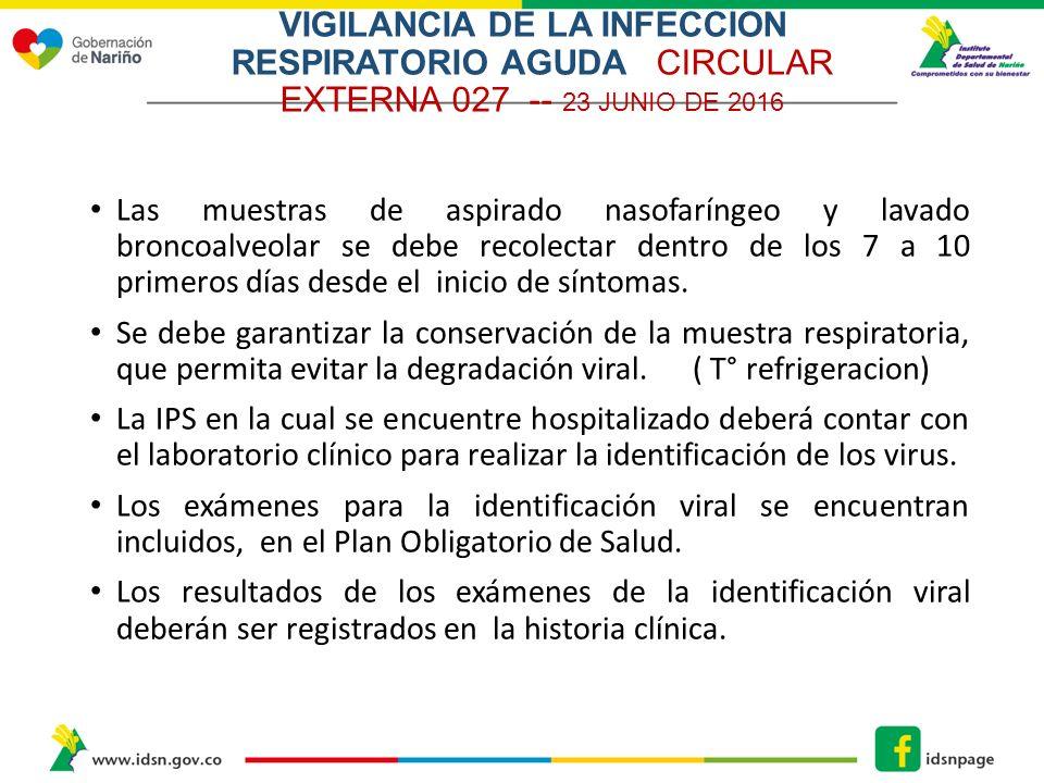 VIGILANCIA DE LA INFECCION RESPIRATORIA AGUDA ( IRA) La Infección ...