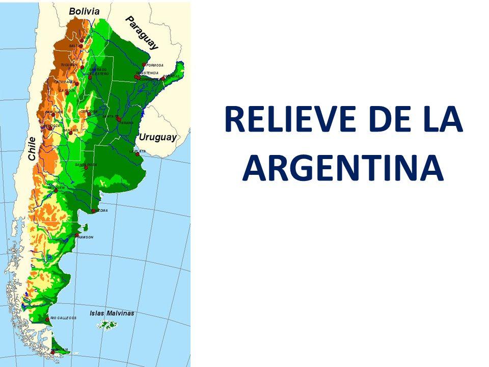 RELIEVE DE LA ARGENTINA