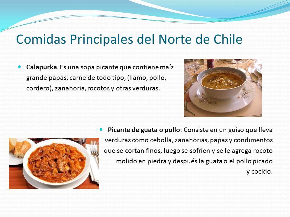 Comidas Principales del Norte de Chile Calapurka.