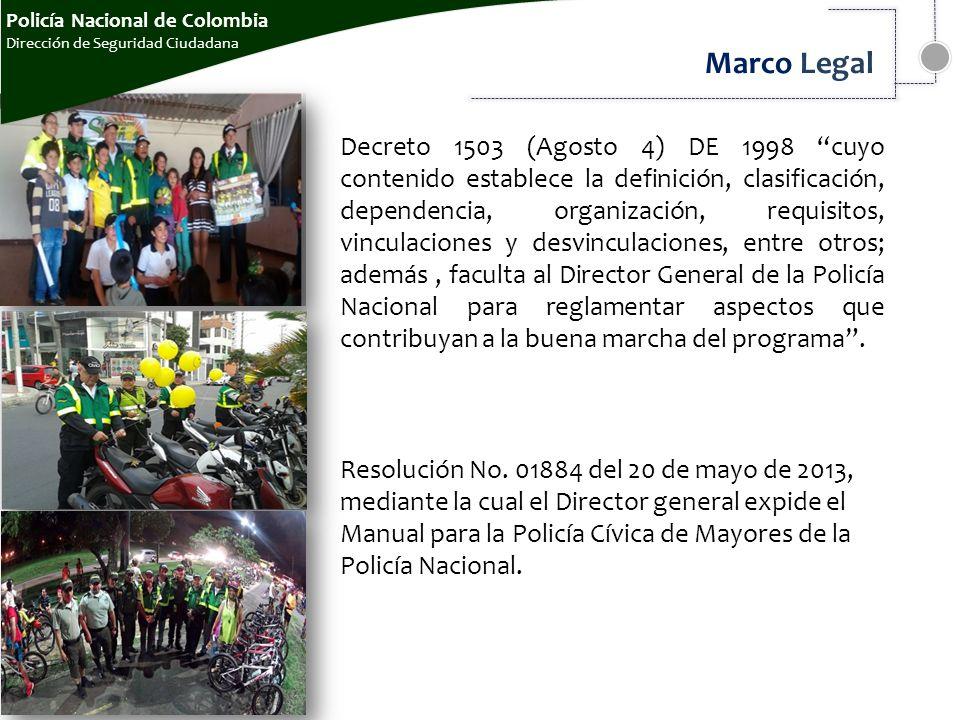 POLICÍA NACIONAL DE COLOMBIA Dirección de Seguridad Ciudadanawww ...