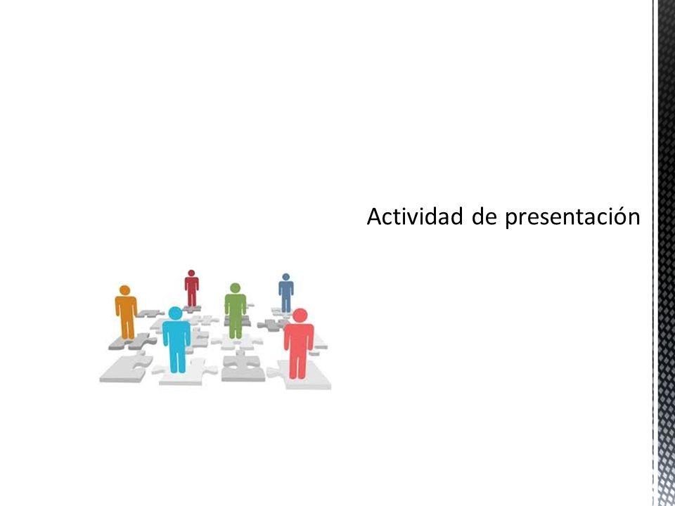 M en TI María de Lourdes Salinas Callejas. 1.Actividad Presentación ...