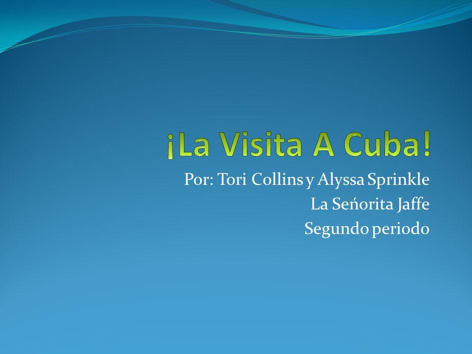 Alyssa y yo estamos muy emocionadas por el viaje.¡Nosotras vamos a ir a Cuba por 7 dias.