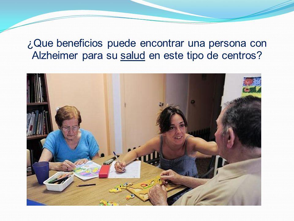 Carolina (psicologa). Le preguntamos: ¿ Es necesario, por el bienestar del paciente y de los familiares, trasladar al enfermo a residencias específica