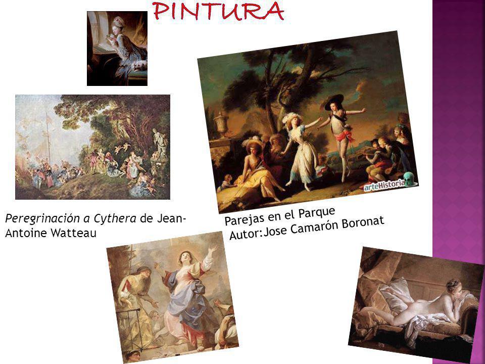 Peregrinación a Cythera de Jean- Antoine Watteau Parejas en el Parque Autor:Jose Camarón Boronat