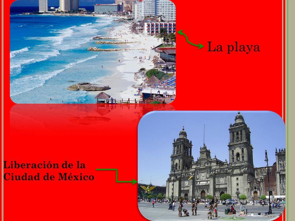 Liberación de la Ciudad de México La playa