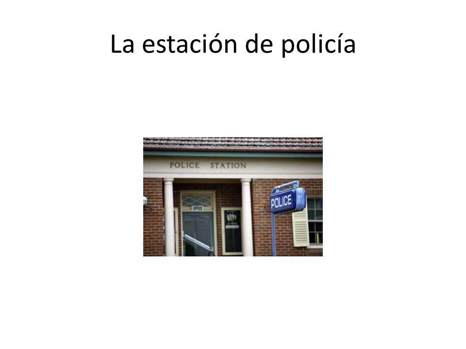 La estación de policía