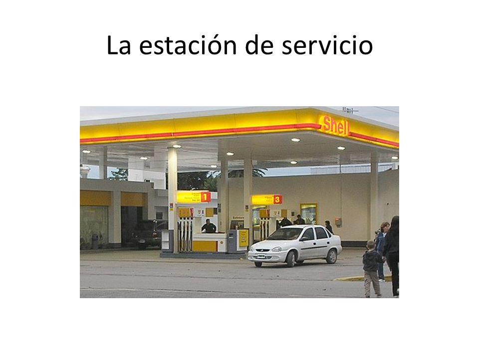 La estación de servicio