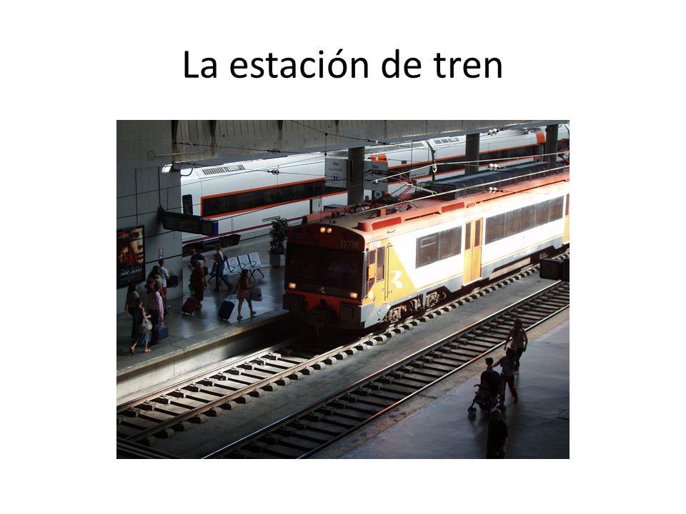La estación de tren