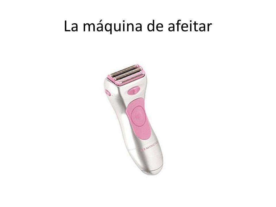 La máquina de afeitar