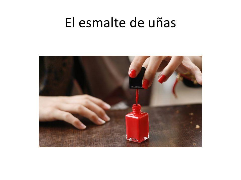 El esmalte de uñas