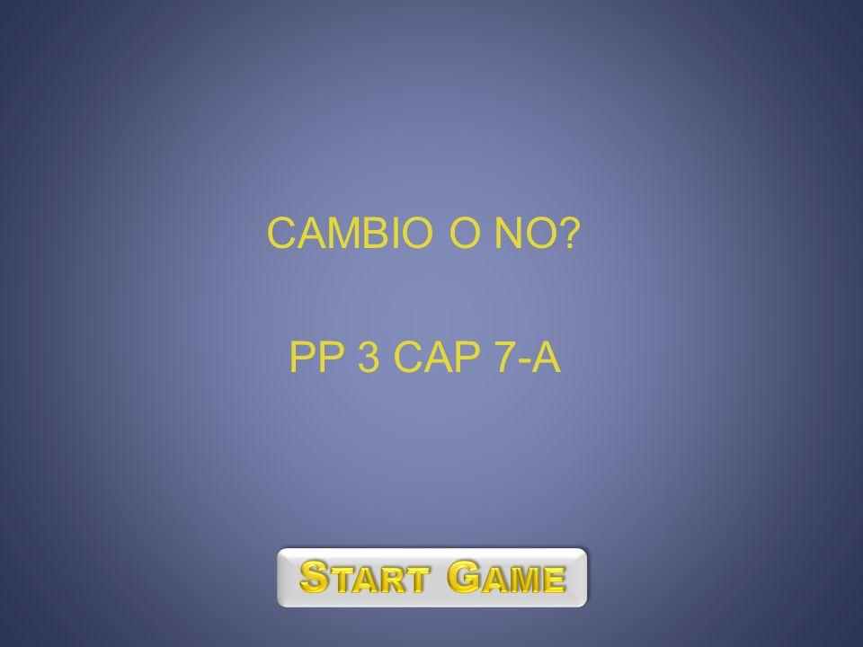 CAMBIO O NO? PP 3 CAP 7-A