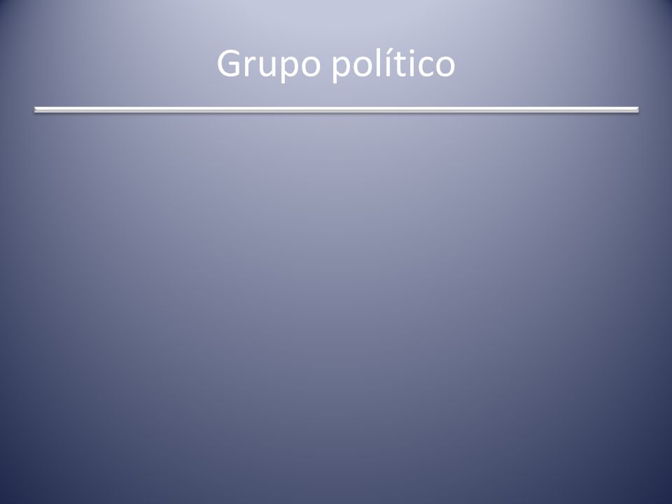 Grupo político