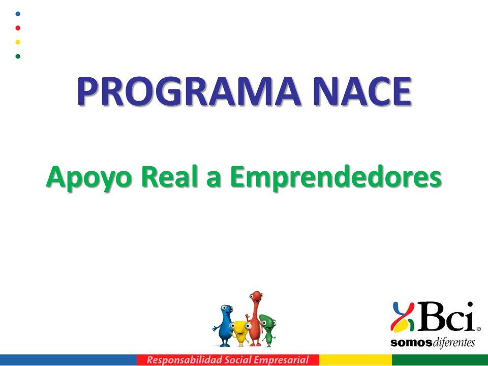 PROGRAMA NACE Apoyo Real a Emprendedores
