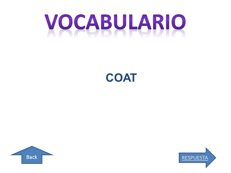 Back COAT RESPUESTA