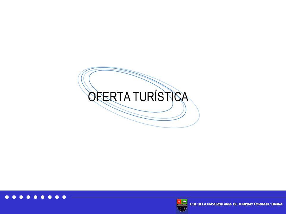 ESCUELA UNIVERSITARIA DE TURISMO FORMATIC BARNA OFERTA TURÍSTICA