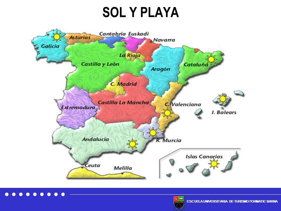 ESCUELA UNIVERSITARIA DE TURISMO FORMATIC BARNA VIAJES DE LOS RESIDENTES EN ESPAÑA Los viajes realizados en el mes de junio de 2008 por los residentes en España se incrementaron un 13,3% respecto al año anterior FUENTE: IET