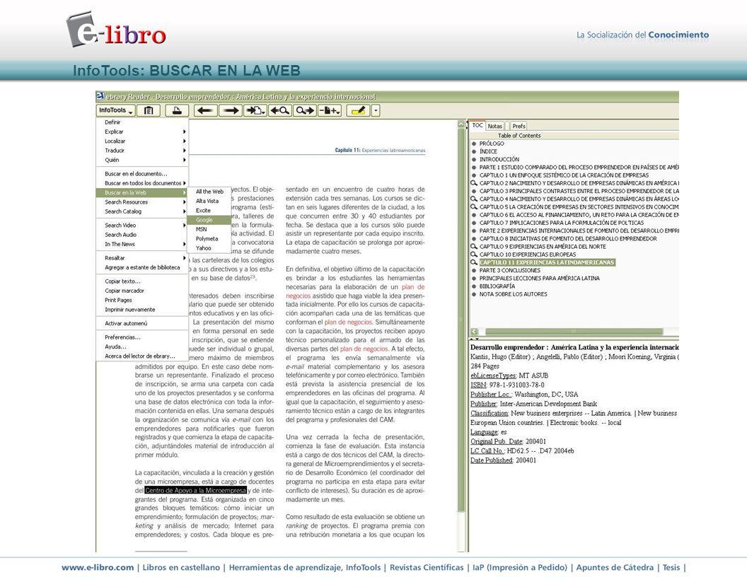InfoTools: BUSCAR EN LA WEB