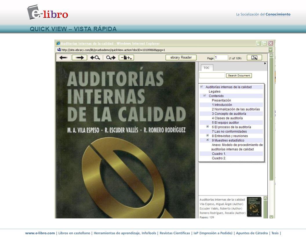 ESTANTE DE BIBLIOTECA y CONSTANCIA DE ANOTACIONES HECHAS