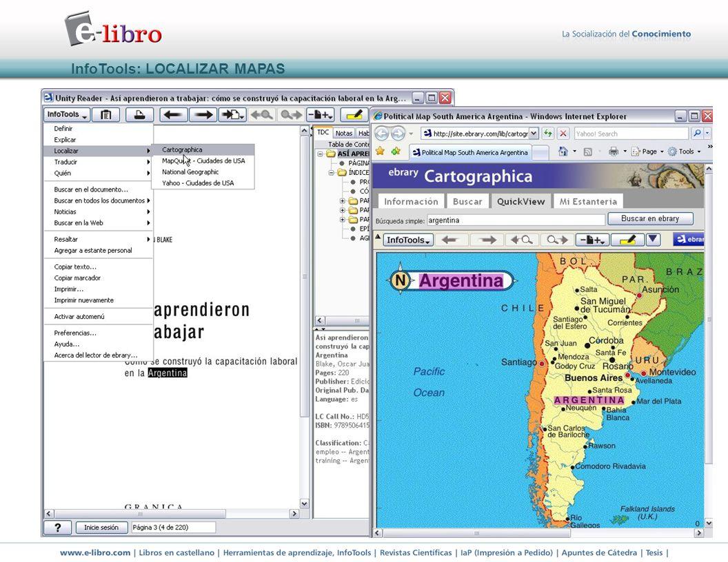 InfoTools: LOCALIZAR MAPAS