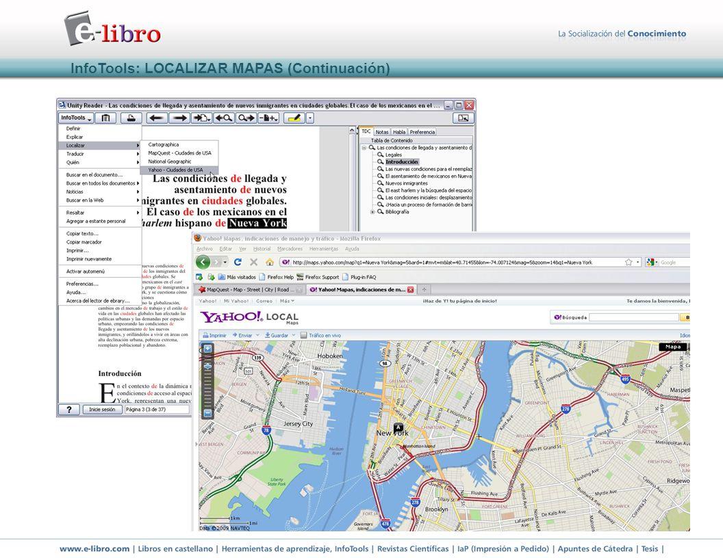 InfoTools: LOCALIZAR MAPAS (Continuación)