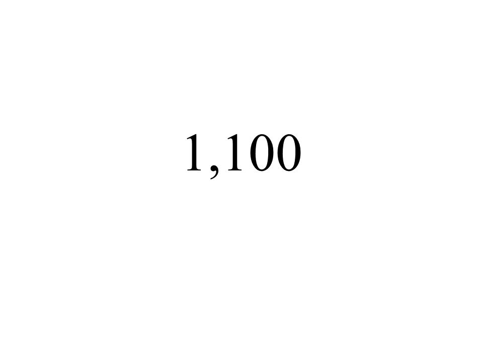 1,100
