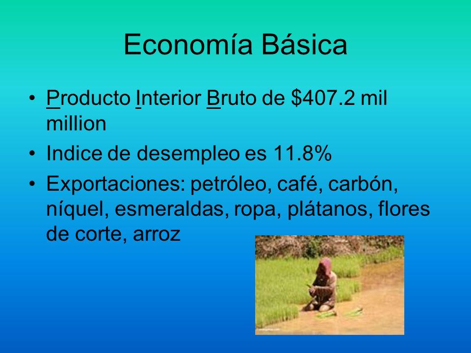 Otra Información PBI por capita es $9000.