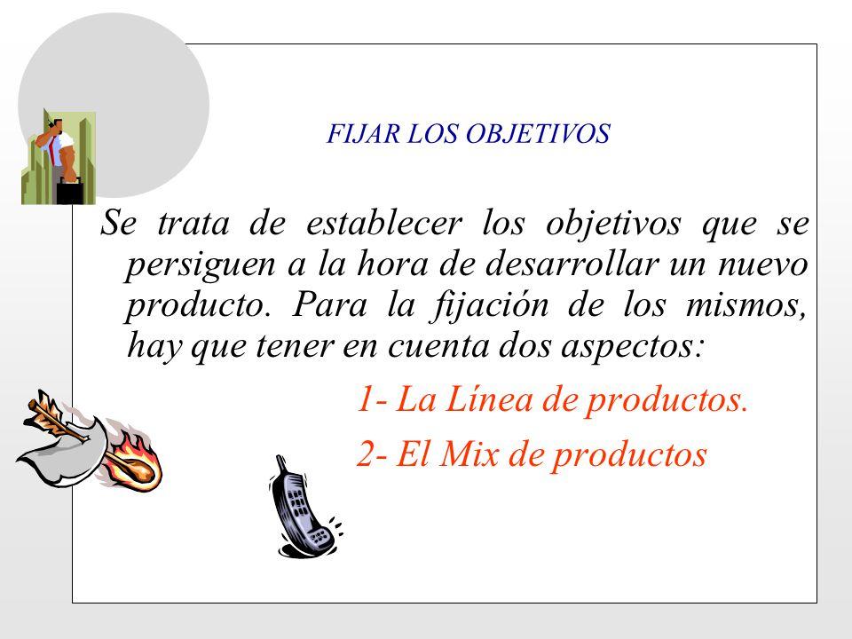 La línea de productos es un concepto que no está demasiado claro.
